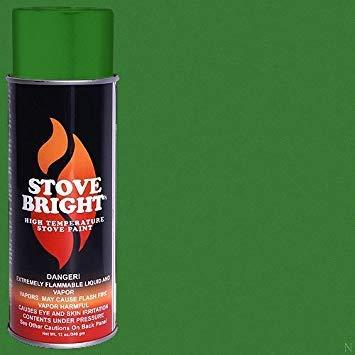 Stove Bright High Temp Paint - Emerald Green