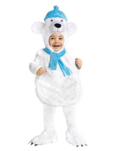 Fun World Polar Bear Toddler Costume, Small, Multicolor]()