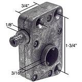 Left Hand RV Window Slant Sill Operator 1-3/4 Screw Holes by C.R. Laurence