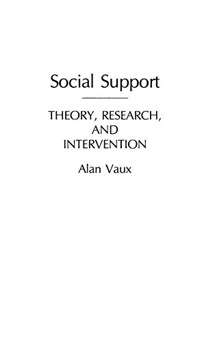 Social Support: Theory, Research, and Intervention
