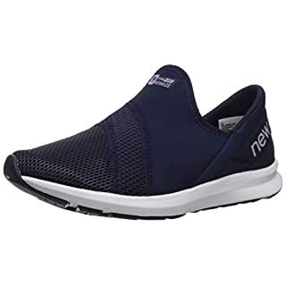 New Balance Women's FuelCore Nergize Slip-On V1 Sneaker, Pigment/Clear Amethyst, 5 M US