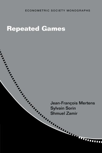 Repeated Games (Econometric Society Monographs)