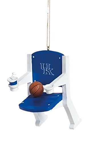 Kentucky Wildcats Official NCAA 4 inch x 3 inch Stadium Seat Ornament