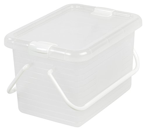 small plastic basket with handle - 6