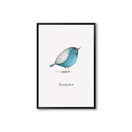 three thousand Simple Art Animal Poster Cute Color Chick Print Canvas Painting Home Wall Art Decoration Wall Stickers,13x18 cm No Frame,Photo -
