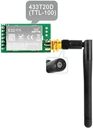 SX1278 LoRa Radio Wireless 433Mhz UART Serial Module