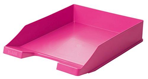 Han Klassik – Bandeja para cartas, DIN A4/C4, apilable, estable, moderno, Trend Colour Rosa