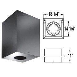 DuraVent 9148AN Black DuraPlus 7