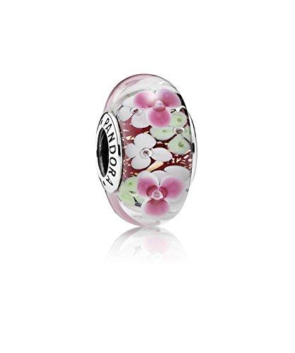 PANDORA - Charm Murano Jardin de Fleurs Argent 925/1000 PANDORA 791652