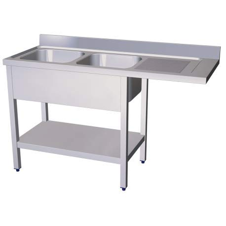 Fricosmos - RO-Fregadero para lavavajillas 2C,ED 1600x600x890 mm ...