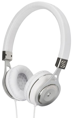 - Scosche rh600w Realm On - Ear Headphones with tapLINE III - Retail Packaging - White