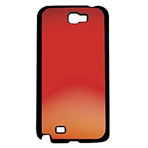 Red, Orange, and Peach Ombre Gradient Hard Snap on Phone Case (Note 2 II)