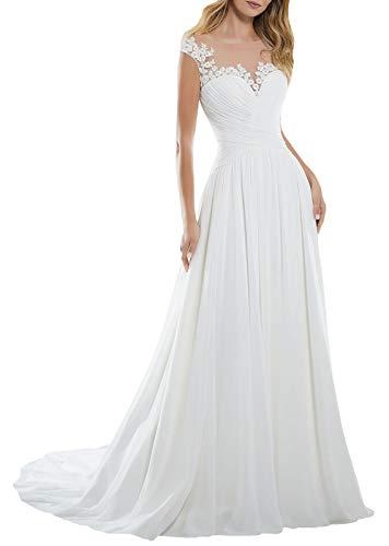 Women's A-line Vintage Sweetheart Lace Appliqued Bridal Gowns Wedding Dresses Plus Size White
