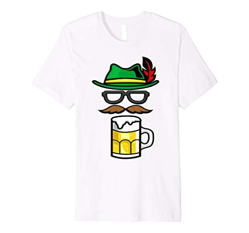 Beer Funny White T-shirt - Funny Alpine, Beer , German Costume Men Women T Shirt