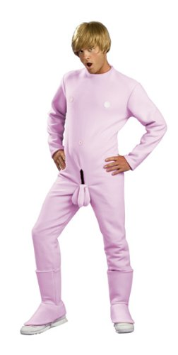 Bruno Pink Outfit Adult Mens Costumes (Bruno Pink Outfit Adult Halloween Costume Standard)
