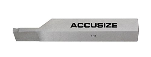 AccusizeTools - 1/2 inch 8 pcs H.S.S. Tool Bit Set, Pre-Ground for Turning & Facing Work, for Aluminum.Steel, Brass, Plastic & Wood, 2662-2004 by Accusize Industrial Tools (Image #6)