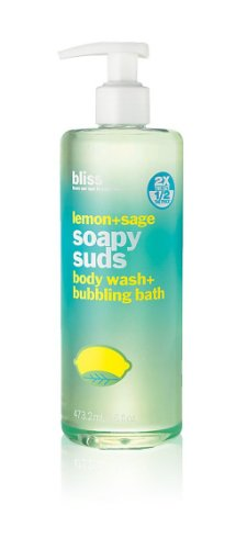 bliss Soapy Suds, Lemon + Sage, 16 fl. oz.