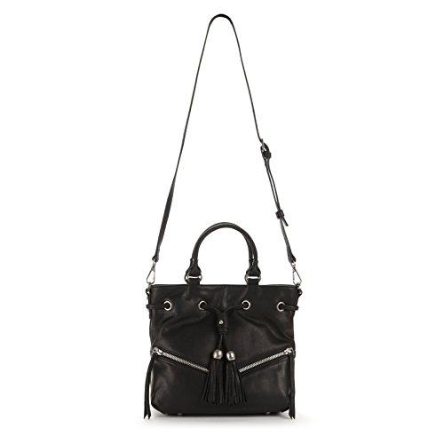 Lancaster Soft Vintage Clare Bag, Black - - Outlet Lancaster