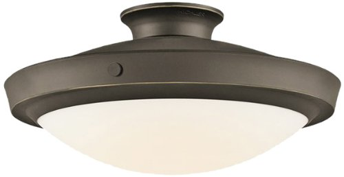 Kichler Lighting 42137OZ Fremont Convertible Semi Flush Large Ceiling Light, Olde Bronze