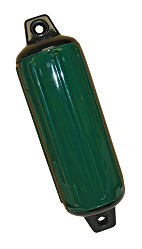 Taylor Made Products 954824  Super Gard Inflatable Vinyl Boat Fender, 8.5 x 26 inch, Hunter Green (Boats Bass Hunter)