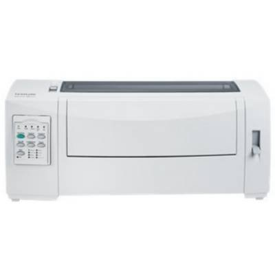 Lexmark 11C0118 Forms Printer 2590n+ - Printer - B/W - dot-matrix - 11.7 in x 22 in - 360 dpi x 360 dpi - 24 pin - up to 556 char/sec - USB, 10/100Base-TX