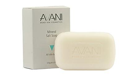 AVANI Dead Sea Cosmetics Mud and Salt Soap Set – Includes Vitamins, Essential Oils, Minerals – 3 Pack