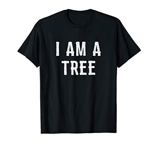 I Am a Tree Halloween Shirt Funny Easy Costume Idea