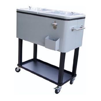Amazon Com Oakland Living 90010 Mt Steel Patio Cooler