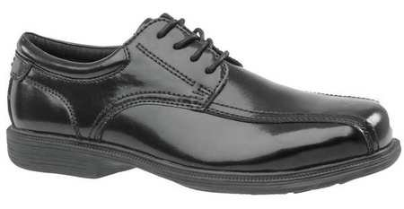 "Florsheim 3"" H Men's Oxford Shoes, Steel Toe Type, Leather Upper Material, Black, Size 11EEE - 1 Each"
