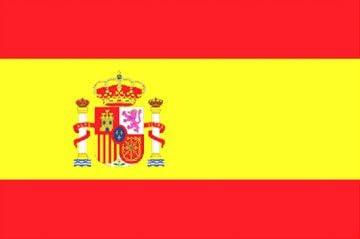 Banderas Online - Bandera de España con escudo Tamaño ...