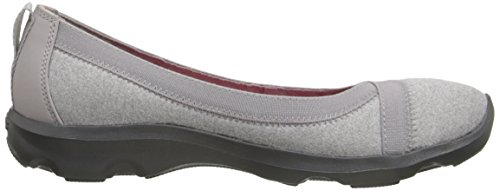 Dã­a Heathered Light Plana Crocs Grey Ocupado dPgBE1