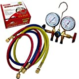 Pitbull CHIMG777 R12 A/C Air Conditioning Ac Refrigerant Manifold-Gauge Set