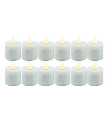 Hollowick Smart Candle Platinum Rechargeable Replacement Flameless 2 Inch Candle 12 per case (Candlelight) by Hollowick