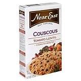 Near East Tomato Lentil Couscous Mix, 6.1-Ounce Boxes (Pack of 12) ( Value Bulk Multi-pack)