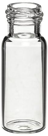 Wheaton W225150 Borosilicate Glass 1.8mL ABC Screw Cap Vial, Clear (Case of 1000)