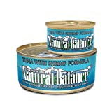 Natural Balance Tuna with Shrimp Formula Ultra Premium Canned Cat Food, My Pet Supplies