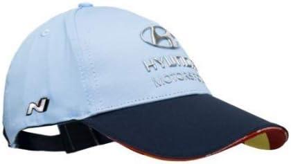 color azul claro Gorra para conductor Hyundai Motorsport WRC