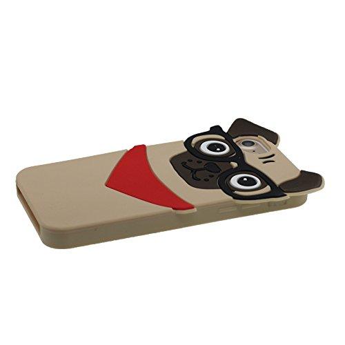 """Coque pour iPhone 7, [ TPU Material Flexible bétail ] Étui pour iPhone 7 (4.7""""), Dust Slip Scratch Resistant, Case souple durable & Bouchon anti-poussière"""