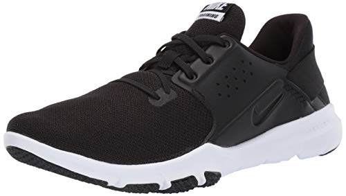 Nike Men's Flex Control TR3 Sneaker, Black-White-Anthracite, 10 Regular US