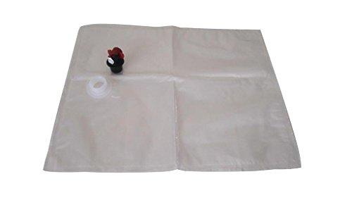 Juggage BIB Bag - (Pack of 3 Bags, 20 L Each) - Wine Making Supplies - Boxed Wine Bags - Long Term Bulk Food Storage - Factory Sterilized - Disposable Beverage Bag