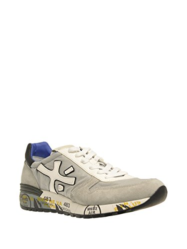 Premiata Hi Top Sneakers Uomo MICK1430 Tessuto Grigio