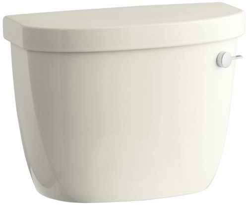 (Kohler K-4418-RA-96 Cimarron Class Six Toilet Tank with Right-Hand Trip Lever, Biscuit)