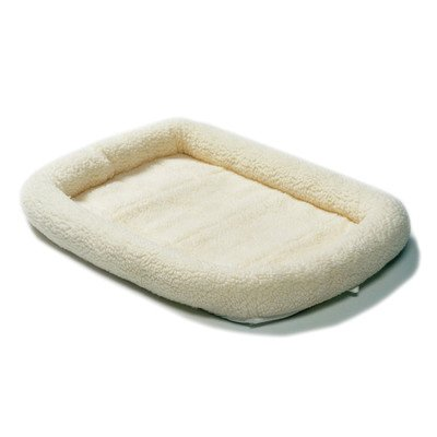 MidWest Deluxe Bolster Pet Bed for Dogs & Cats 31zu9Ed6 YL