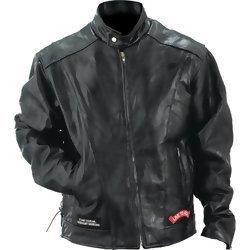 Genuine Buffalo Leather Motorcycle Jacket - 4