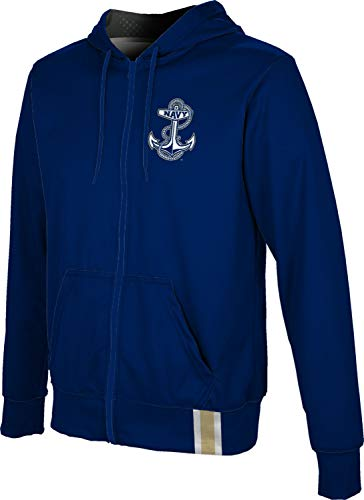 ProSphere United States Naval Academy Men's Full Zip Hoodie - Solid FF32 (Small)