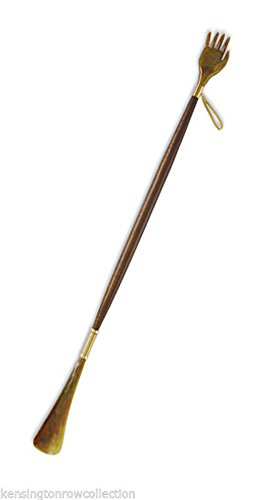 SHOE HORNS - BACK SCRATCHER LONG REACH SHOE HORN - 28.5''L - MENS GIFTS