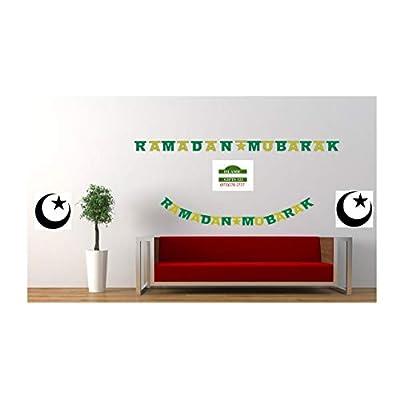 RAMADAN MUBARAK GLITTER BANNERS -Wholesale LOTS-Decoration-Islamic Gifts 123 (1): Toys & Games