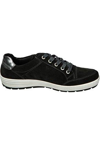 cordones para 07 Zapatos de mujer 49493 ara Gris 12 BqTpOw744