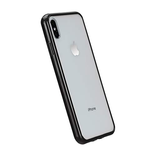 Amazon Basics iPhone Xs Max Crystal Mobile Phone Case (Protective & Anti Scratch) – Black