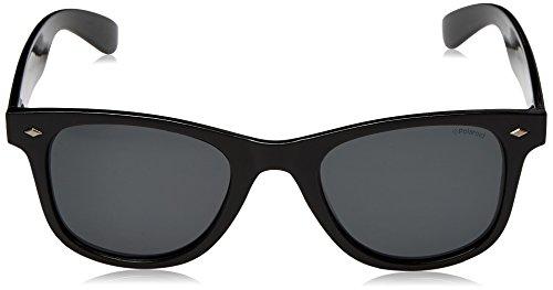 Grey sol de Mirror Polarized Silver JB White Shiny 58 Blanco UVM P4139 Gafas Polaroid Unisex adulto CwPwq4